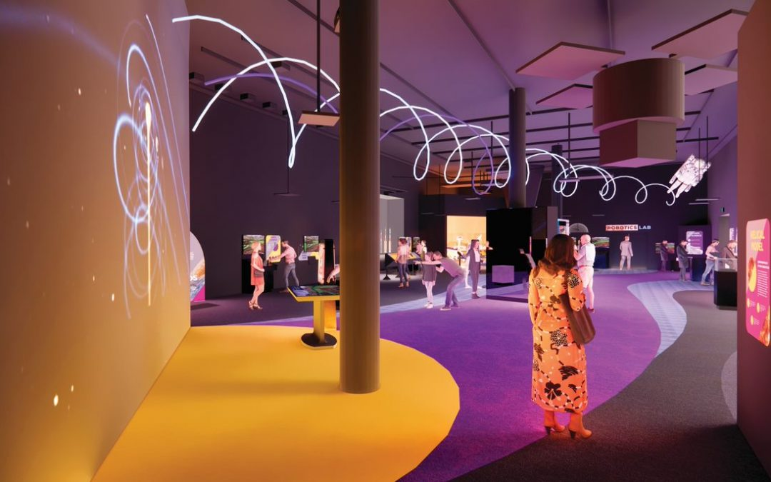 space gallery rendering