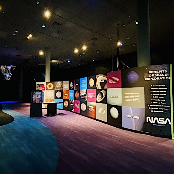 Overview of Space Explorer Gallery.