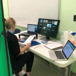 Education teaching virtual program.