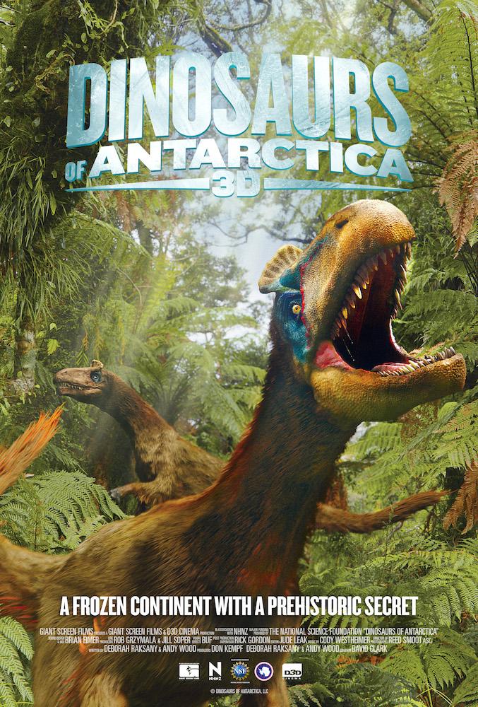 IMAX image Dinosaurs of Antarctica 3D